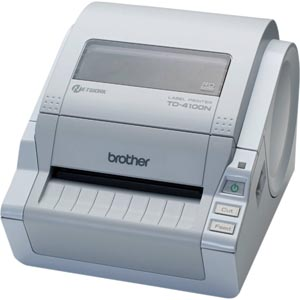 シールプリンタ ブラザーTD-4100N