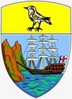 セントヘレナの紋章